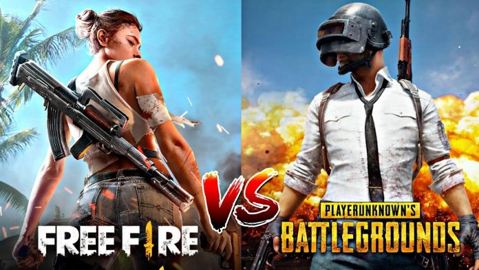 Free Fire or Pubg