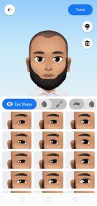 Avatar Eye Shape