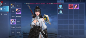 Abyss Walker Character Customization