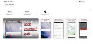 Phone Lock App Stats and Rep