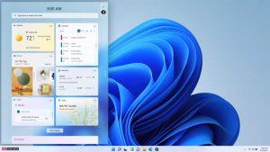 Windows 11 Widget Panel