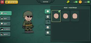 Mini Militia Character Customization