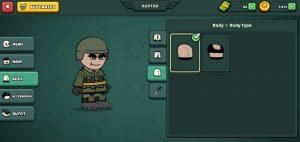 Mini Militia Custom Character