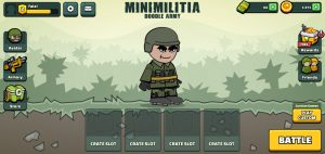 Mini Militia Dashboard